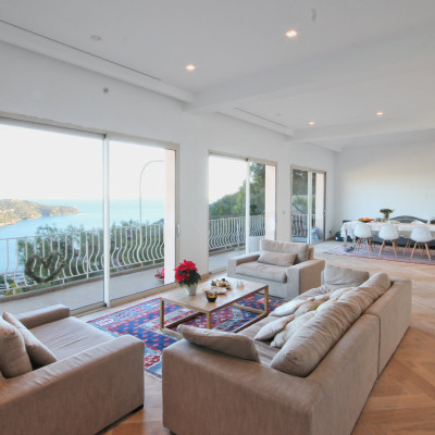 Property for sale in Nice (220) - Modern villa with stunning views over Cap Ferrat