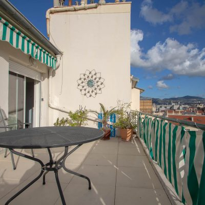 Property for sale in Nice (75) - Penthouse with three terraces