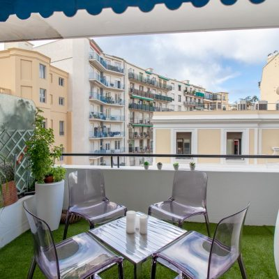Property for sale in Nice (80) - 2 bedroom apartment with terrace and a balcony