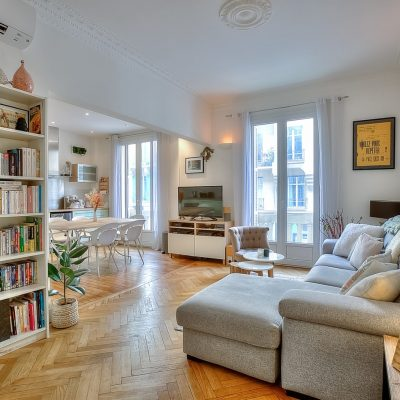 Property for sale in Nice (90) - Cosy three bedroom apartment in Carré d'argent