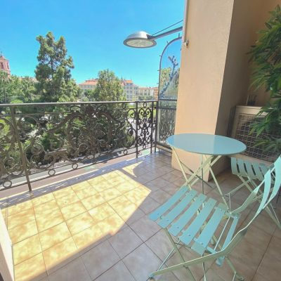 Property for sale in Nice (56) - One bedroom facing the park
