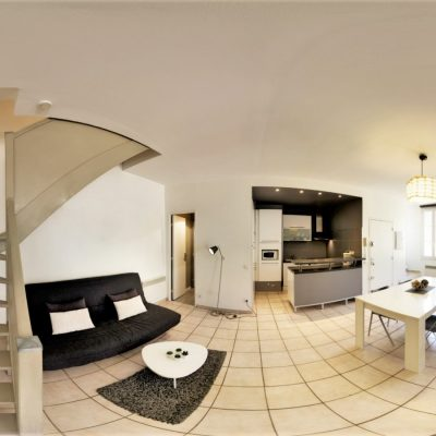 Property for sale in Nice (56) - Two bedroom duplex in Old Town