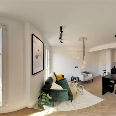 Property for sale in Nice (34) - One bedroom apartment on top floor in zone piétonne