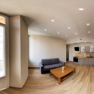 Property for sale in Nice (39.15) - One bedroom on Zone Piétonne with balcony